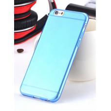 Силиконовый чехол для iPhone 6/6s (голубой)