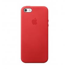 Чехол для iPhone 5/5s Apple Leather Case Red (копия)