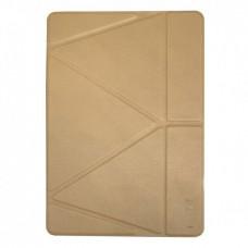 Чехол Logfer Origami для iPad Pro 12.9 2020 Gold