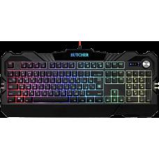 Проводная игровая клавиатура Defender Butcher GK-193DL RU,RGB подсветка, 9 режимов