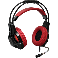 Игровая гарнитура Defender Lester красный + черный, кабель 2,2 м