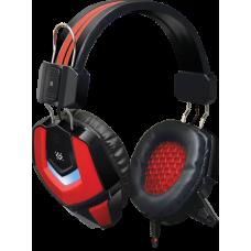 Игровая гарнитура Defender Ridley красный + черный, кабель 2,2 м
