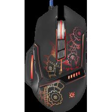 Проводная игровая мышь Defender Kill'em All GM-480L оптика,8кнопок,3200dpi