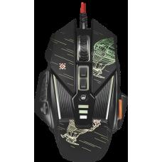 Проводная игровая мышь Defender sTarx GM-390L оптика,8кнопок,грузики,3200dpi