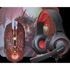 Игровой набор Defender DragonBorn MHP-003 мышь+гарнитура+ковер