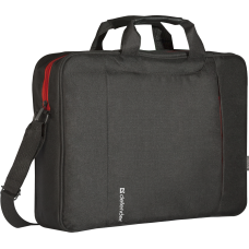 "Сумка для ноутбука Defender Geek 15.6"" черный, карман"
