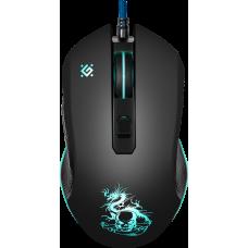 Проводная игровая мышь Defender Sky Dragon GM-090L оптика,6кнопок,800-3200dpi