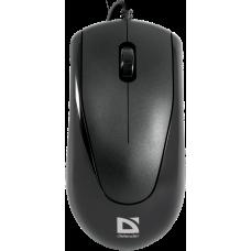 Проводная оптическая мышь Defender Optimum MB-150 PS/2 черный,3 кнопки,800 dpi