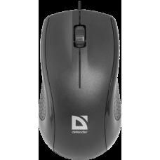 Проводная оптическая мышь Defender Optimum MB-160 черный,3 кнопки,1000 dpi