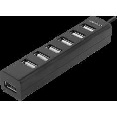 Универсальный USB разветвитель Defender Quadro Swift USB2.0, 7 портов