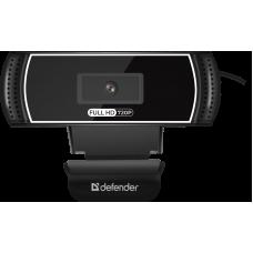 Веб-камера Defender G-lens 2597 HD720p 2 МП, автофокус, автослежение