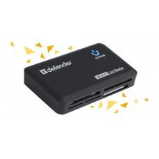 Универсальный картридер Defender Optimus USB 2.0, 5 слотов