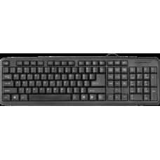 Проводная клавиатура Defender #1 HB-420 RU,черный,полноразмерная
