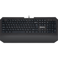 Проводная клавиатура Defender Oscar SM-600 Pro RU,черный,полноразмерная
