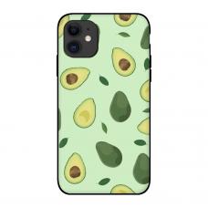 Силиконовый чехол Softmag Case Зеленый авокадо для iPhone 11