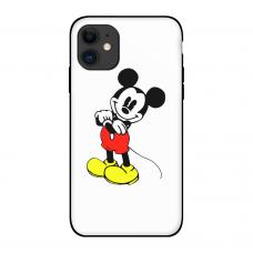 Силиконовый чехол Softmag Case Микки Маус для iPhone 11