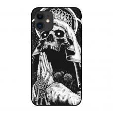 Силиконовый чехол Softmag Case Череп для iPhone 11