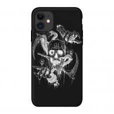 Силиконовый чехол Softmag Case Веер для iPhone 11 Pro