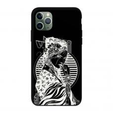 Силиконовый чехол Softmag Case Gaysha white для iPhone 11 Pro