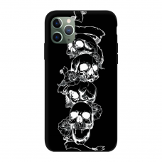 Силиконовый чехол Softmag Case Черепа для iPhone 11 Pro