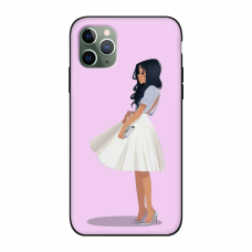 Силиконовый чехол Softmag Case Девушка для iPhone 11 Pro