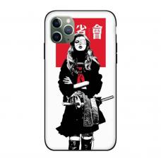 Силиконовый чехол Softmag Case Schoolgirl для iPhone 11 Pro Max