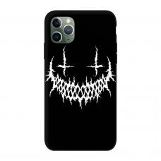 Силиконовый чехол Softmag Case Smile для iPhone 11 Pro Max
