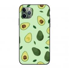 Силиконовый чехол Softmag Case Зеленый авокадо для iPhone 11 Pro Max