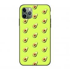 Силиконовый чехол Softmag Case Желтый авокадо для iPhone 11 Pro Max