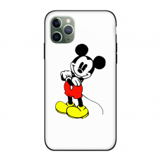 Силиконовый чехол Softmag Case Микки Маус для iPhone 11 Pro Max