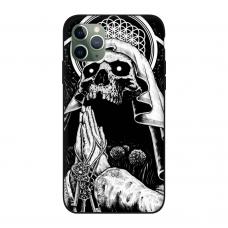 Силиконовый чехол Softmag Case Череп для iPhone 11 Pro Max