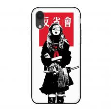 Силиконовый чехол Softmag Case Schoolgirl для iPhone Xr