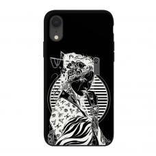 Силиконовый чехол Softmag Case Gaysha white для iPhone Xr