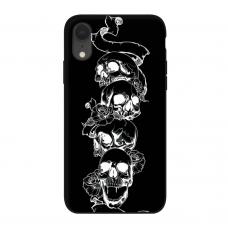 Силиконовый чехол Softmag Case Черепа для iPhone Xr