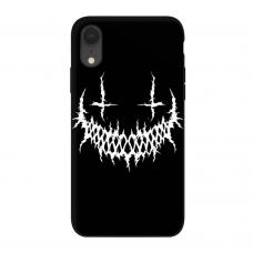 Силиконовый чехол Softmag Case Smile для iPhone Xr