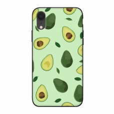Силиконовый чехол Softmag Case Зеленый авокадо для iPhone Xr
