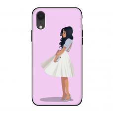 Силиконовый чехол Softmag Case Девушка для iPhone Xr