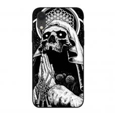 Силиконовый чехол Softmag Case Череп для iPhone Xr