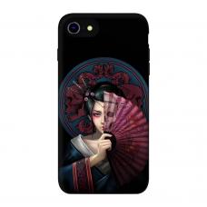 Силиконовый чехол Softmag Case Веер для iPhone 7/8