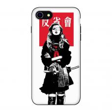 Силиконовый чехол Softmag Case Schoolgirl для iPhone 7/8