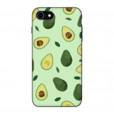 Силиконовый чехол Softmag Case Зеленый авокадо для iPhone 7/8