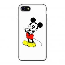 Силиконовый чехол Softmag Case Микки Маус для iPhone 7/8
