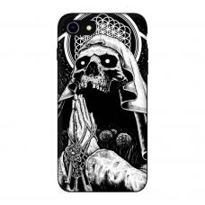 Силиконовый чехол Softmag Case Череп для iPhone 7/8