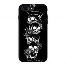 Силиконовый чехол Softmag Case Черепа для iPhone 7 Plus / 8 Plus