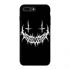 Силиконовый чехол Softmag Case Smile для iPhone 7 Plus / 8 Plus