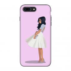 Силиконовый чехол Softmag Case Девушка для iPhone 7 Plus / 8 Plus