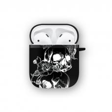 Силиконовый чехол Softmag Case Черепа для AirPods 1/2