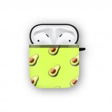 Силиконовый чехол Softmag Case Желтый авокадо для AirPods 1/2