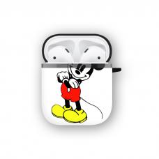 Силиконовый чехол Softmag Case Микки Маус для AirPods 1/2