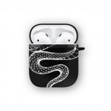 Силиконовый чехол Softmag Case Змея для AirPods 1/2